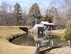 Mabry Mill on the Blue Ridge Parkway.